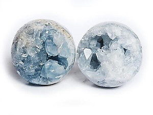 80 mm Celestite Spheres