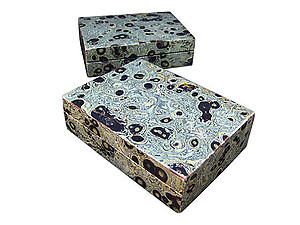 Crocodile Jasper Large Jewelry Box