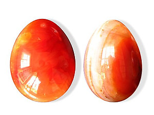 Wholesale - Carnelian Eggs (45-60mm)