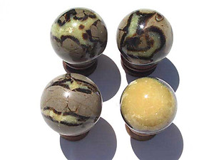 Septarian Spheres 60mm 2pc Lot