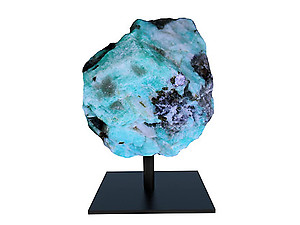 Amazonite Rough on Base - Medium