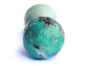 Amazonite Spheres - 60mm