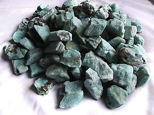 Amazonite Tumbling Rough - Gem Decor Rough (5-30g) 25Kg (55LBS) - 5 Bags