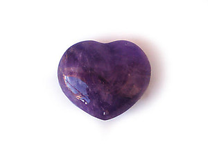 Amethyst Small Jewelry Hearts