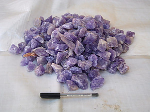 Amethyst Tumbling Rough - Gem Decor Rough (5-30g) 5Kg (11LBS) - 1 Bag
