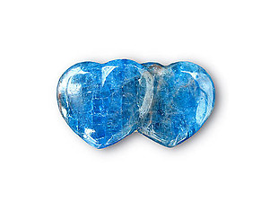 Apatite Jewelry Double Heart