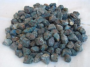 Apatite Tumbling Rough - Gem Decor Rough (5-30g) 5Kg