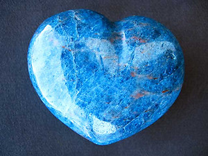 Apatite Decorative Hearts