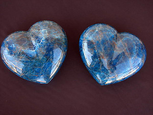 Apatite Large Hearts 7-8inch 10pcs