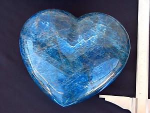 Apatite Large Hearts 7-8inch 2pcs