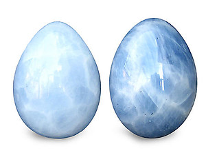 Wholesale - Blue Calcite Eggs (40-60mm), #1 Quality