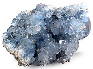 Celestite Druze (3-4Kg pieces) - AAA Quallity