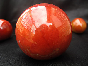 Chestnut Jasper Sphere (40mm) 2pc