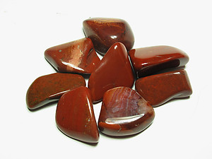 Red Jasper Tumbled Stones - Small (18-25mm)