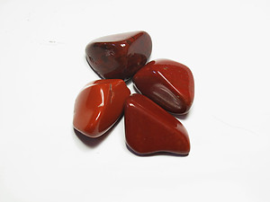 Chestnut Jasper Tumbled Stones Large (over 30mm) - 33LBS
