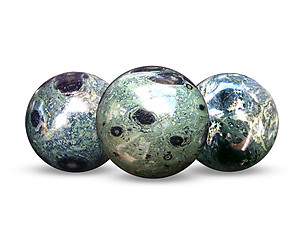 Crocodile Jasper Spheres 55mm