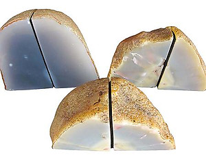 Agate Bookends 1-3kg - Pair