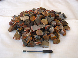 Desert Jasper Tumbling Rough - Gem Decor Rough (5-30g) 5kg