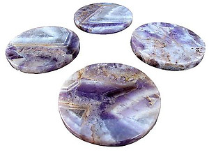 Amethyst Banded Coasters