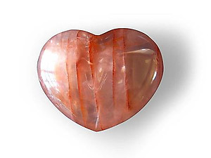 Fire Quartz Decorative Hearts