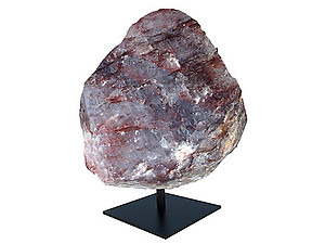 Fire Quartz Rough on Base - Large