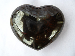 Hematite Decorative Hearts