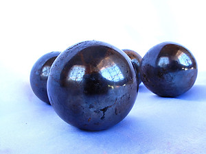 Hematite Sphere 45mm - 5pcs