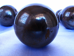 Hematite Sphere 55mm - 5pcs