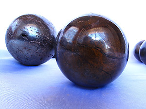 Hematite Sphere 60mm - 2pcs