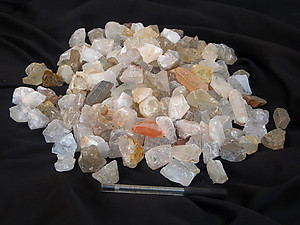 Crystal Quartz Tumbling Rough - Gem Decor Rough (5-30g) 5kg
