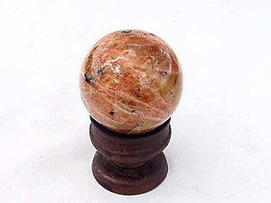 Orange Calcite Spheres (45mm)