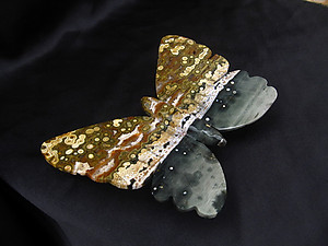 Sea Jasper Butterfly - Medium
