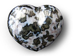 Indigo Gabbro Decorative Heart