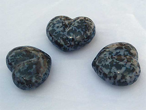 Indigo Gabbro Large Decorative Hearts 60pcs (5flats)