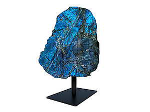 Labradorite Rough on Base - Medium