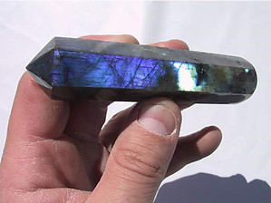 Labradorite Massage Tool - Prismatic Design