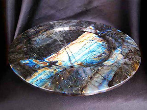 Labradorite PLate Fancy Base - 12 inch - 1.72Kg