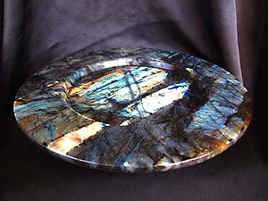 Labradorite PLate Fancy Base - 12 inch - 1,78Kg