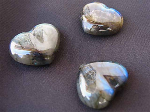 Labradorite Small Jewelry Hearts