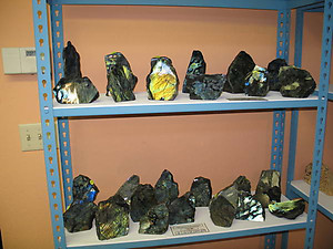 Labradorite Plaques (1LB/PC) 66 LB Lot - 2 Master Cases