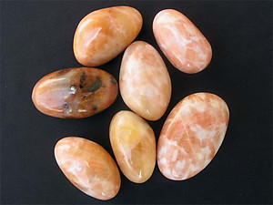 Orange Calcite Gallet