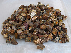Petrified Wood Tumbling Rough - Gem Decor Rough (5-30g) 1000Kg