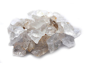 Quartz Crystal Rough - A Quality 5 lb Lot