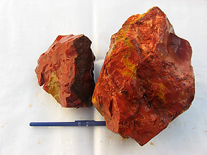 Red Jasper Rough
