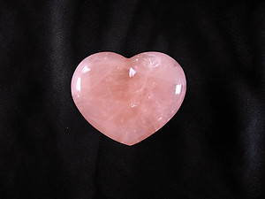 Rose Quartz Large Decorative Heart
