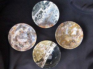 Sea Jasper Handcrafted Bowls - 4 inch