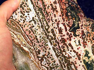 Sea Jasper Plaque - 1LB/PC