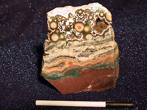 Sea Jasper Plaque 80 LB Lot