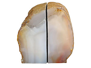 Agate Bookends 3-5kg - Pair