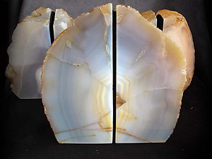 Agate Bookends 3-5kg - 10 pairs